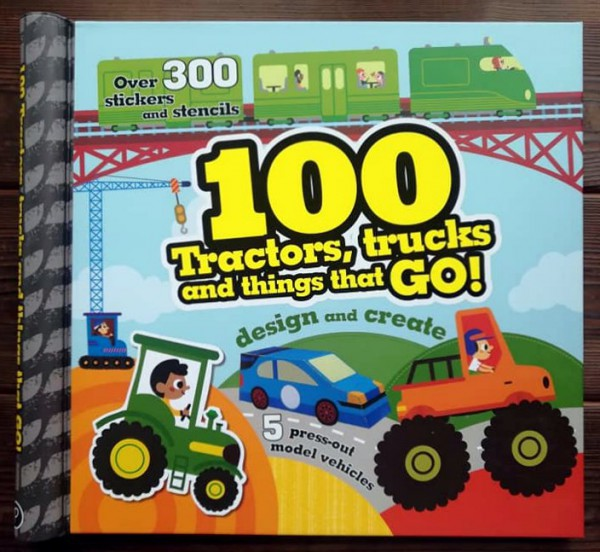 100 Tractors, Trucks and Things That Go
