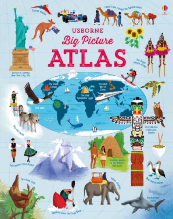 Usborne Big Picture Atlas