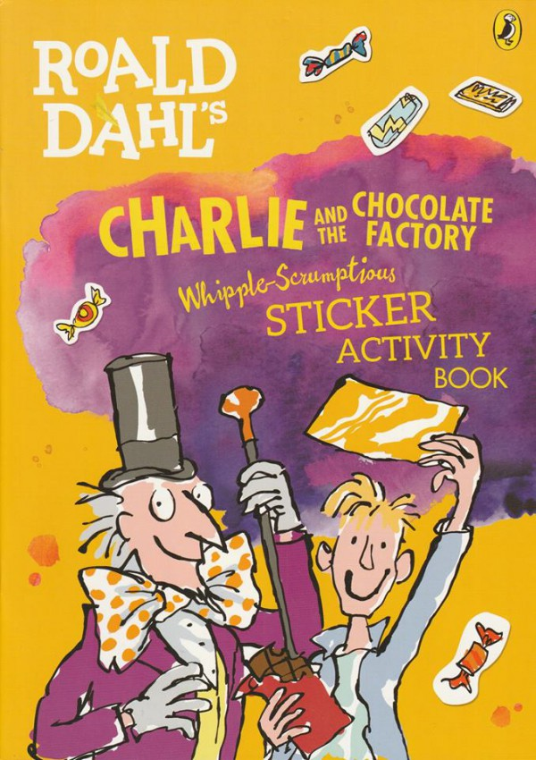 Charlie and the Chocolate Factory Sticker Boo