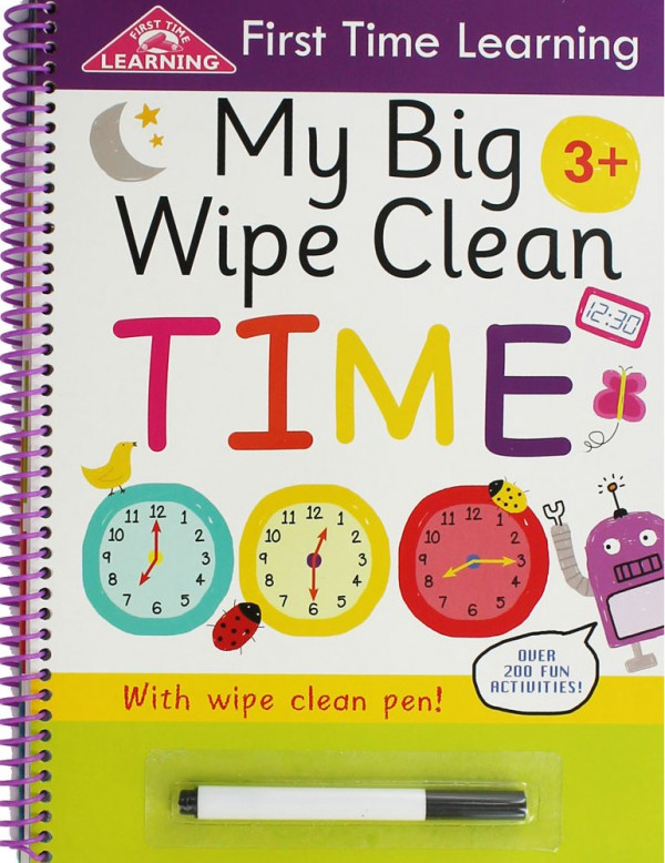 My Big Wipe Clean Time