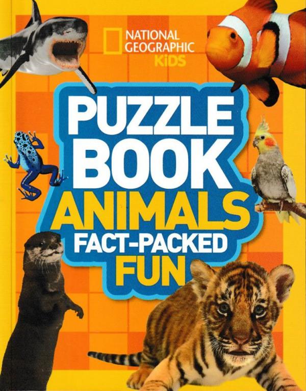 Puzzle Book. Animals