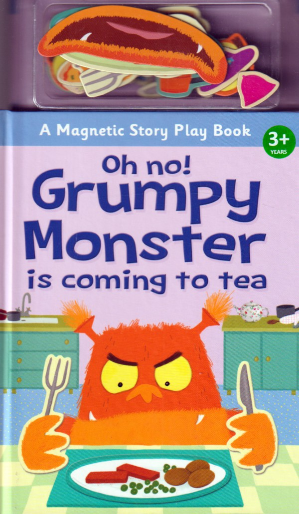 Oh no! Grumpy Monster is Coming to Tea