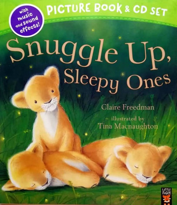 Snuggle Up, Sleepy Ones (Book&CD)