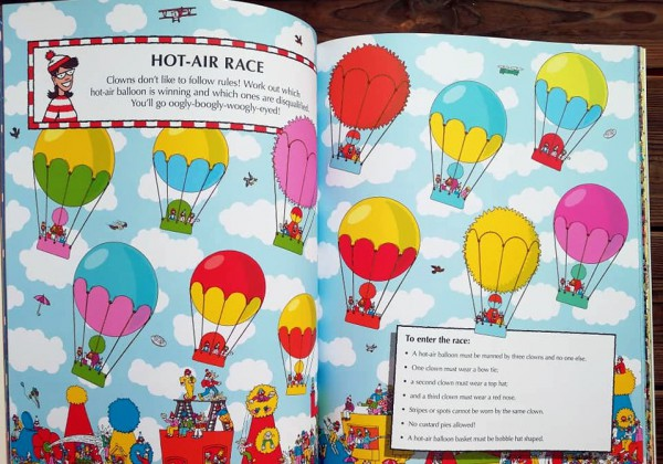 Where's Wally? Activity Book