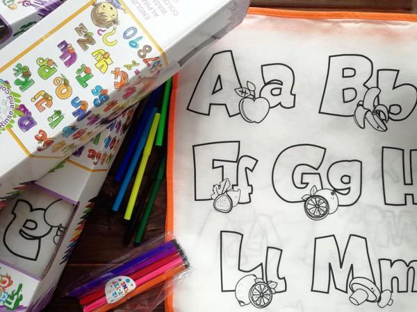 Alphabet Map