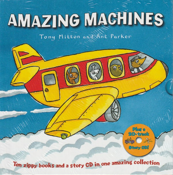 Amazing Machines Collection - 10 Books plus a