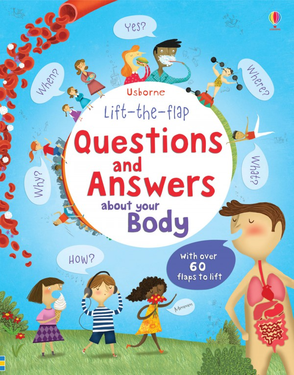Lift the Flap Questions and Answers about you