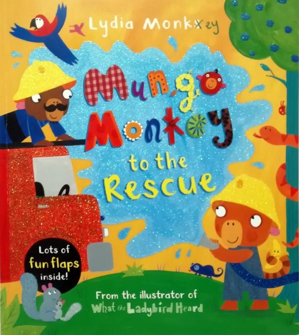 Mungo Monkey Lift-the-Flap