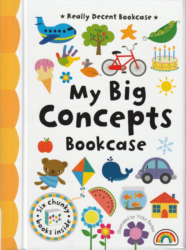My Big Concepts Bookcase