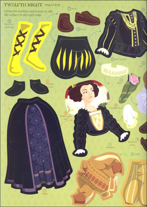 Sticker Dressing Shakespeare