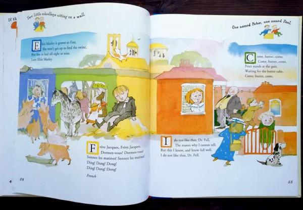 A Child's Treasury of Nursery Rhymes