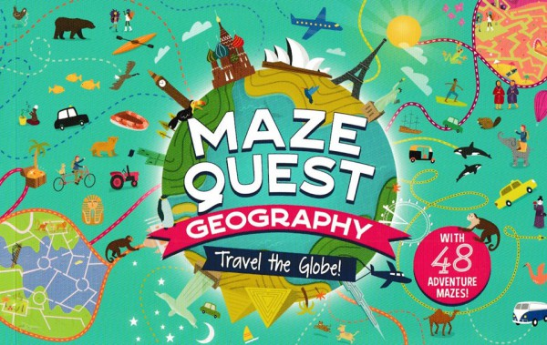 Maze Quest: Geography