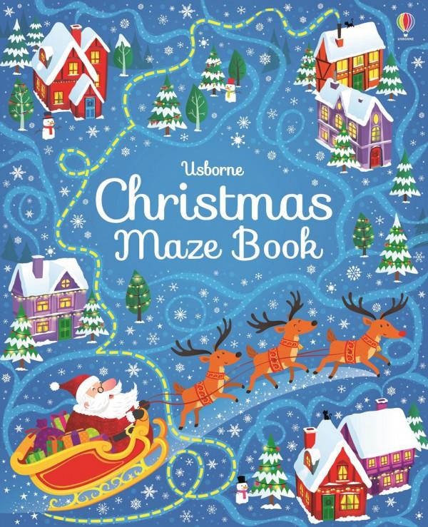 Christmas Maze Book