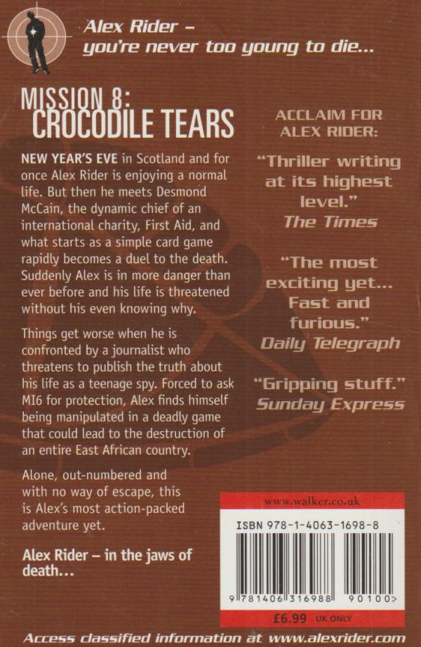 Alex Rider. Crocodile Tears