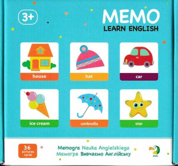Мемо Вивчаємо англійську